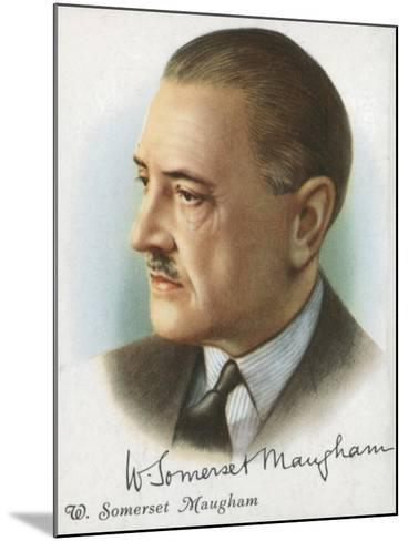 William Somerset Maugham, British Author of Novels, Plays and Short Stories, 1927-Somerset Maugham-Mounted Giclee Print