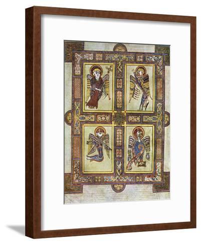 The Evangelical Symbols, 800 Ad--Framed Art Print