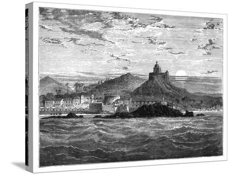 Cape Coast Castle, Gold Coast, West Africa, C1890--Stretched Canvas Print