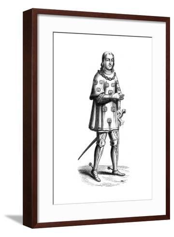 Louis De Mallet, Lord of Graville and Admiral of France, 16th Century--Framed Art Print