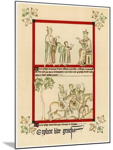 Scenes from the Life of Joseph, C1310-1320--Mounted Giclee Print