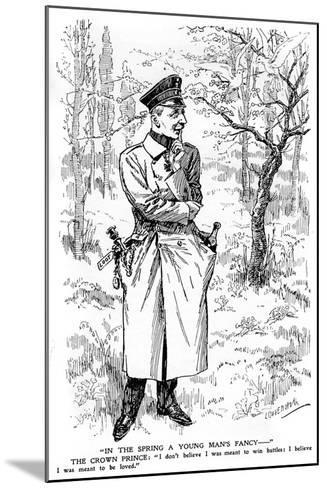 In the Spring a Young Man's Fancy..., First World War--Mounted Giclee Print