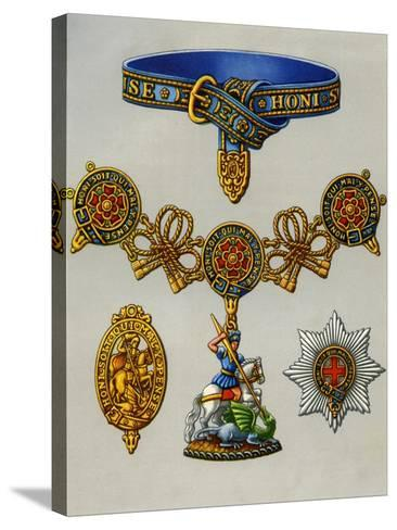 The Most Noble Order of the Garter, 1941--Stretched Canvas Print