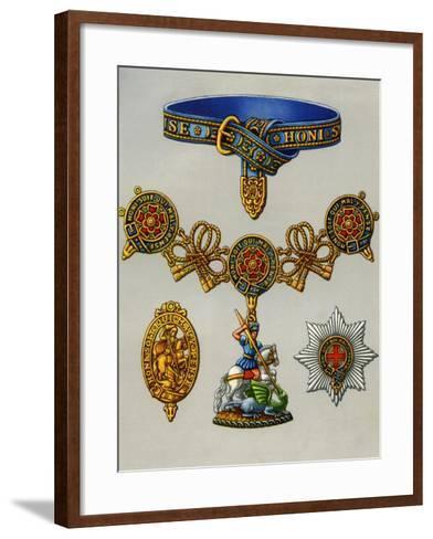 The Most Noble Order of the Garter, 1941--Framed Art Print