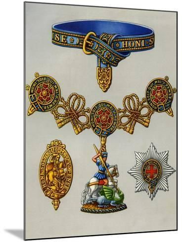 The Most Noble Order of the Garter, 1941--Mounted Giclee Print