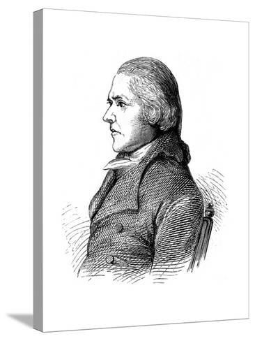 William Jessop, British Civil Engineer, C1860--Stretched Canvas Print
