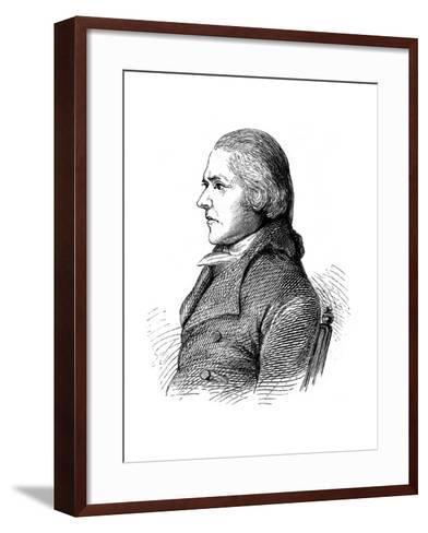 William Jessop, British Civil Engineer, C1860--Framed Art Print