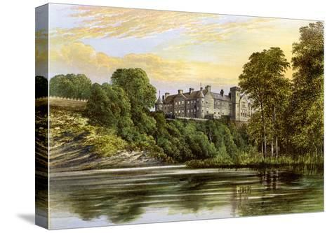 Brechin Castle, Brechin, Angus, Scotland, Home of the Earl of Dalhousie, C1880-AF Lydon-Stretched Canvas Print
