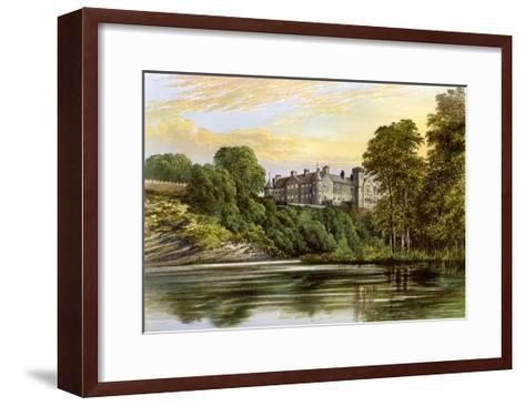 Brechin Castle, Brechin, Angus, Scotland, Home of the Earl of Dalhousie, C1880-AF Lydon-Framed Art Print