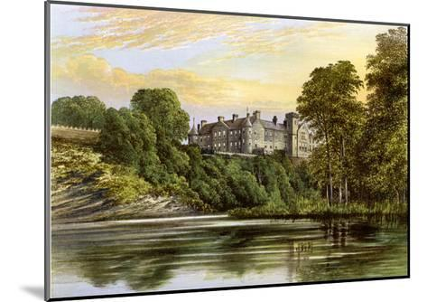 Brechin Castle, Brechin, Angus, Scotland, Home of the Earl of Dalhousie, C1880-AF Lydon-Mounted Giclee Print