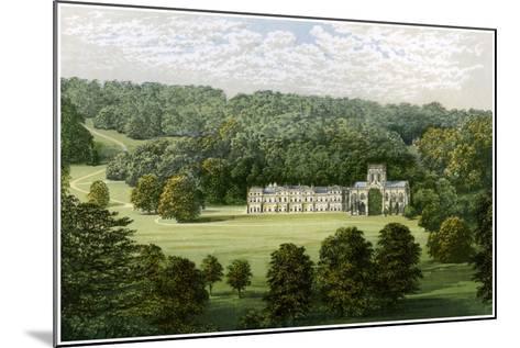 Milton Abbey, Dorset, Home of Baron Hambro, C1880-Benjamin Fawcett-Mounted Giclee Print