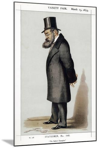 Samuel Plimsoll, British Social Reformer and Politician, 1873--Mounted Giclee Print