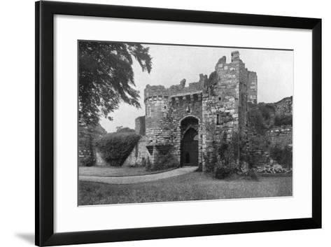 Gateway to Beaumaris Castle, Anglesey, Wales, 1924-1926--Framed Art Print