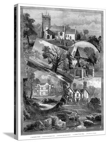 Views of Sandringham, Norfolk, 1887--Stretched Canvas Print