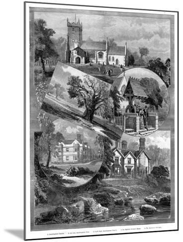 Views of Sandringham, Norfolk, 1887--Mounted Giclee Print