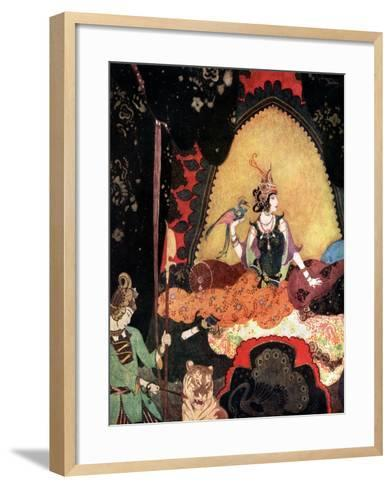 Majnun, 20th Century--Framed Art Print