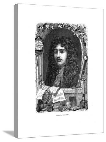 Christiaan Huygens (1629-169), Dutch Physicist, Mathematician and Astronomer, C1870--Stretched Canvas Print
