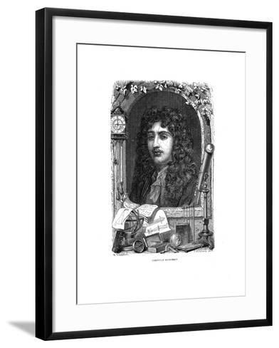 Christiaan Huygens (1629-169), Dutch Physicist, Mathematician and Astronomer, C1870--Framed Art Print