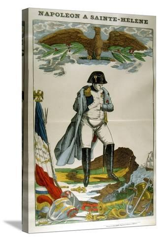 Napoleon on St Helena, 1815-1821--Stretched Canvas Print