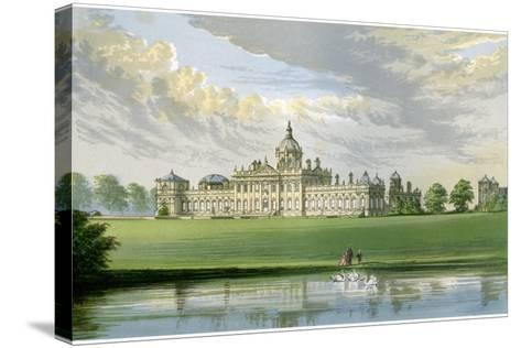 Castle Howard, Yorkshire, Home of the Earl of Carlisle, C1880-AF Lydon-Stretched Canvas Print