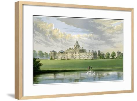 Castle Howard, Yorkshire, Home of the Earl of Carlisle, C1880-AF Lydon-Framed Art Print