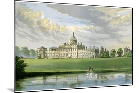 Castle Howard, Yorkshire, Home of the Earl of Carlisle, C1880-AF Lydon-Mounted Giclee Print
