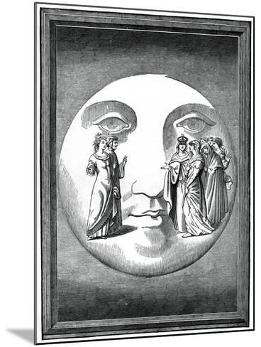 Dante and Beatrice Transported to the Moon, 16th Century--Mounted Giclee Print
