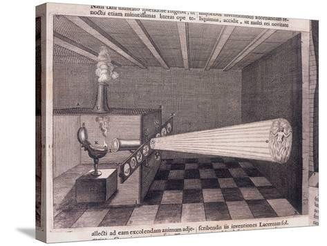 Camera Obscura, 1646--Stretched Canvas Print