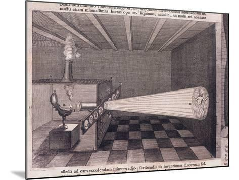 Camera Obscura, 1646--Mounted Giclee Print