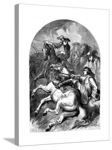 Battle of Malplaquet, 1709--Stretched Canvas Print