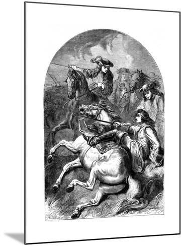 Battle of Malplaquet, 1709--Mounted Giclee Print