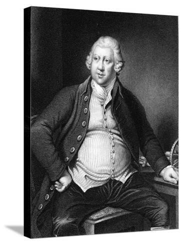 Richard Arkwright (1732-179), British Industrialist and Inventor-Joseph of Derby Wright-Stretched Canvas Print
