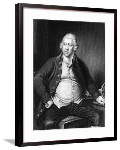 Richard Arkwright (1732-179), British Industrialist and Inventor-Joseph of Derby Wright-Framed Art Print
