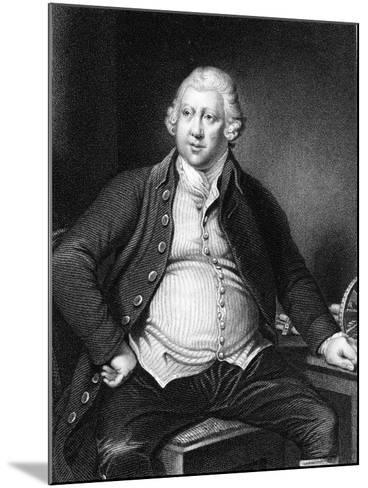 Richard Arkwright (1732-179), British Industrialist and Inventor-Joseph of Derby Wright-Mounted Giclee Print