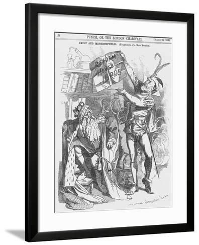 Faust and Mephistopheles, 1888-Edward Linley Sambourne-Framed Art Print