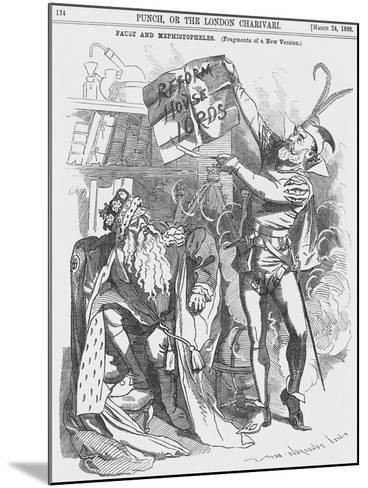 Faust and Mephistopheles, 1888-Edward Linley Sambourne-Mounted Giclee Print