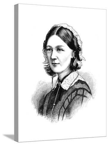 Florence Nightingale, 1870--Stretched Canvas Print