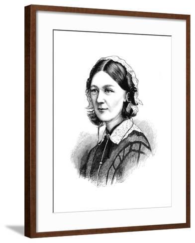 Florence Nightingale, 1870--Framed Art Print