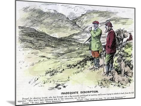 Inadequate Description, 1906--Mounted Giclee Print