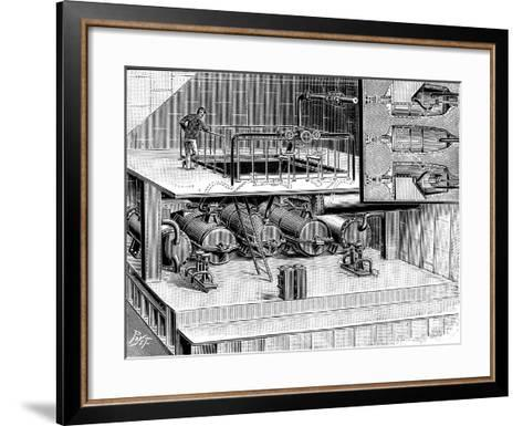 Steam Turbines Fitted into the Dover Packet Boat Queen, 1904--Framed Art Print