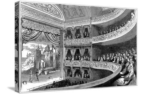 Savoy Theatre, London, 1881--Stretched Canvas Print
