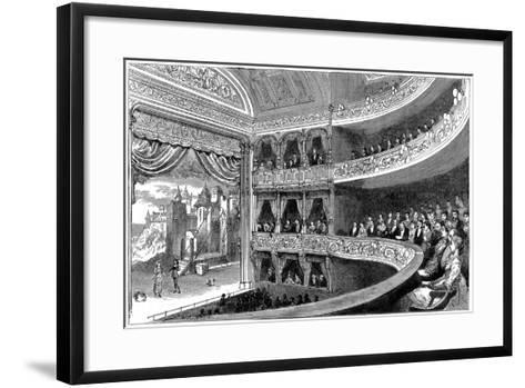 Savoy Theatre, London, 1881--Framed Art Print