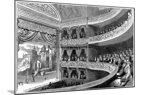 Savoy Theatre, London, 1881--Mounted Giclee Print
