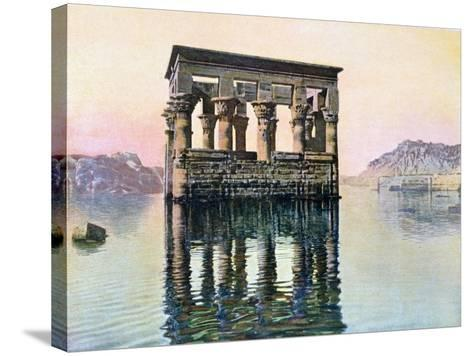 Temple Kiosk of Trajan, Philae, Egypt, 20th Century--Stretched Canvas Print
