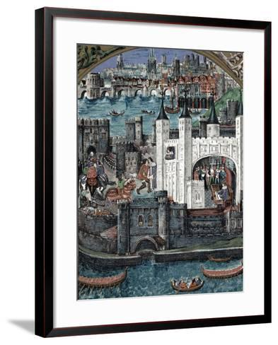 Henry VII at the Tower of London, 1485-1509--Framed Art Print