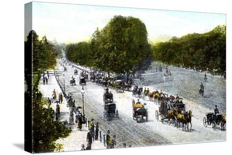 Rotten Row, Hyde Park, London, 20th Century--Stretched Canvas Print