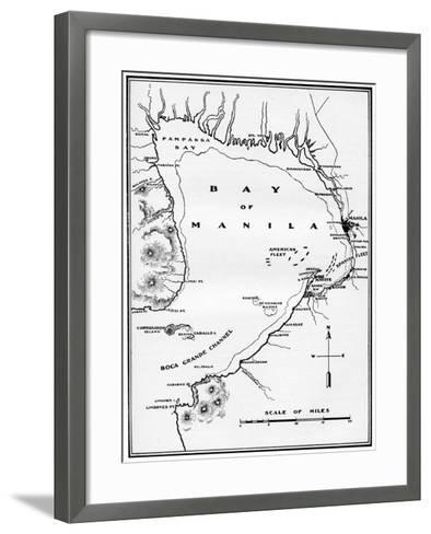 Battle of Manila Bay, Philippines, Spanish-American War, 1898--Framed Art Print