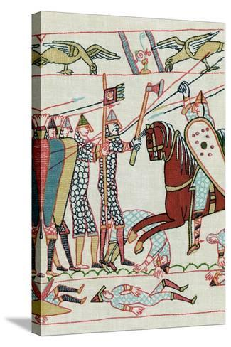 Battle of Hastings, 1066--Stretched Canvas Print