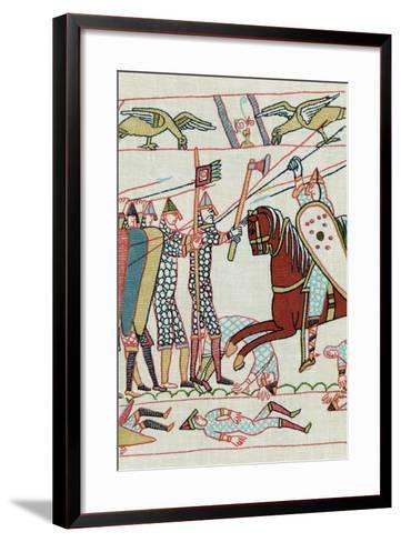 Battle of Hastings, 1066--Framed Art Print