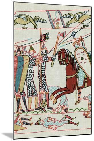 Battle of Hastings, 1066--Mounted Giclee Print